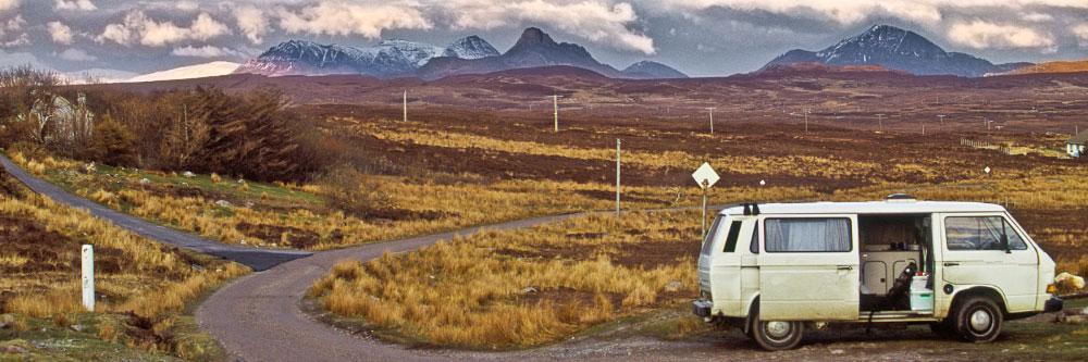 Dans les Highlands d'Ecosse