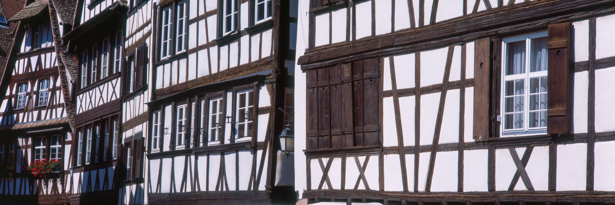 Maisons à colombages, centre de Strasbourg