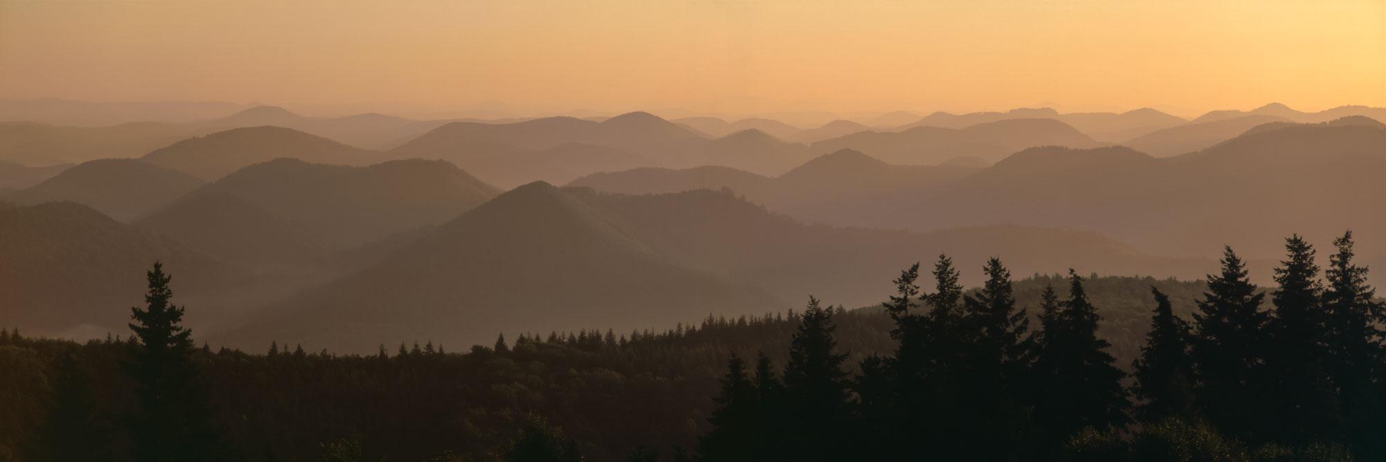 Du Grand Wintersberg, point culminant des Vosges du Nord