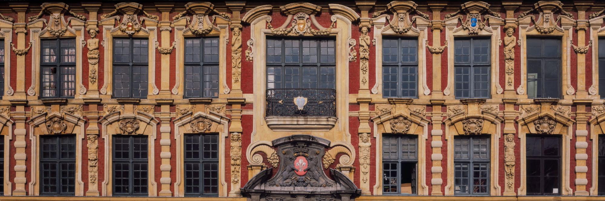 Façades de la Grand Place de Lille