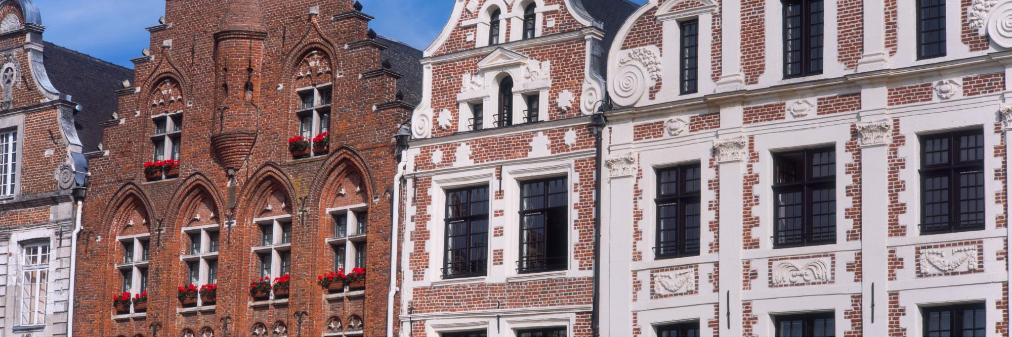 Façades de la Grand Place d'Arras