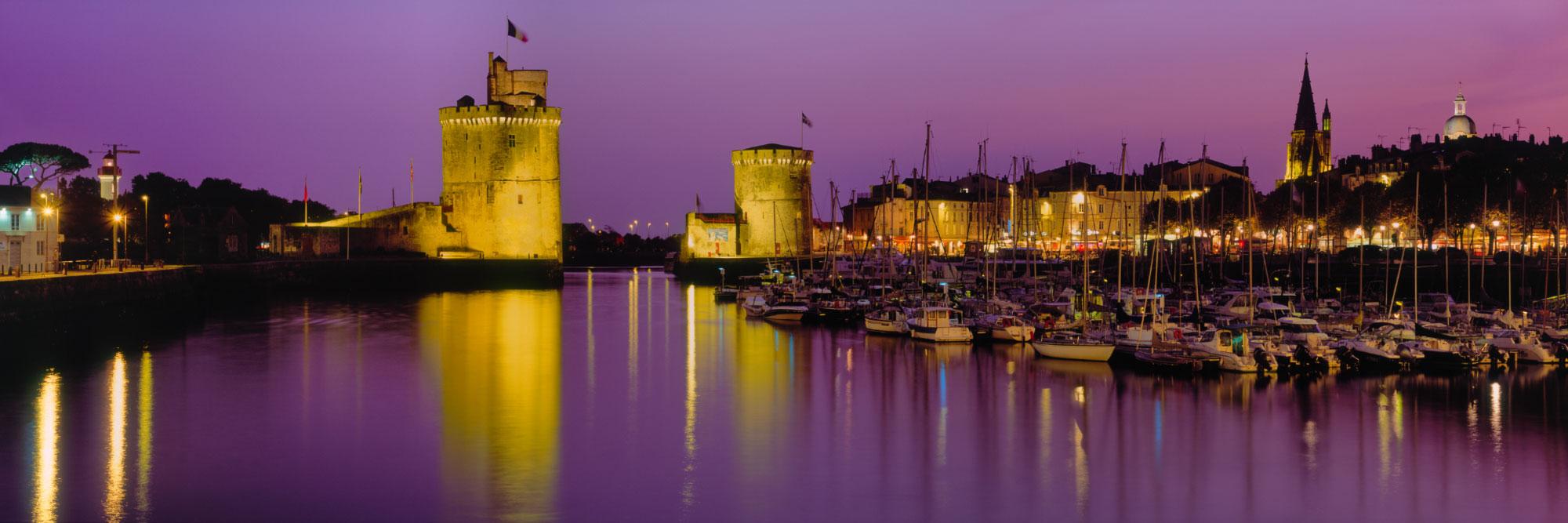 Port de La Rochelle, côte Atlantique