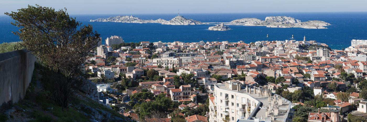 Vue de Notre-Dame de la Garde, Marseille