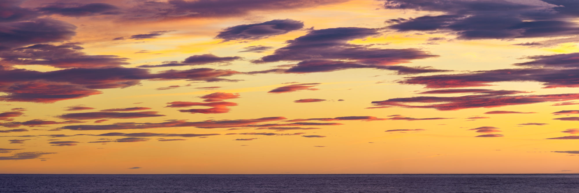 Coucher de soleil à Sainte-Marie-de-la-Mer