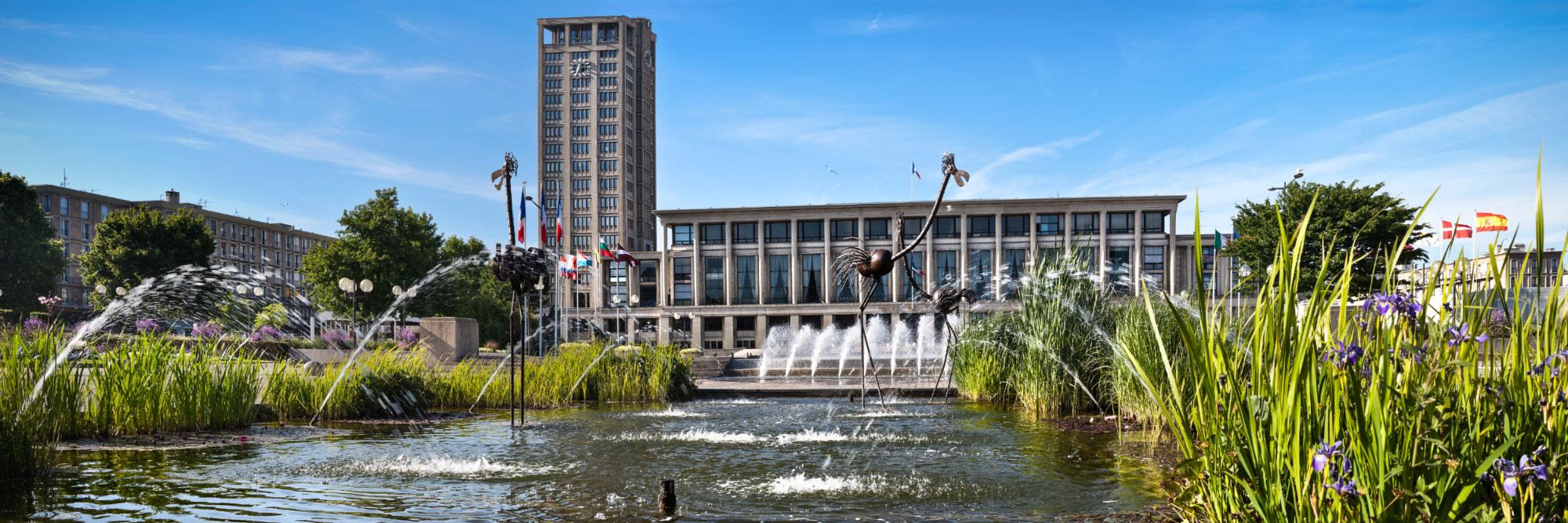 H tel de ville le havre seine maritime herve sentucq for Boutique hotel le havre