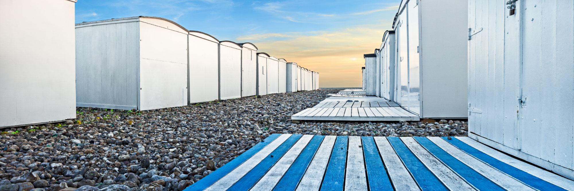 Cabines de bains, Le Havre