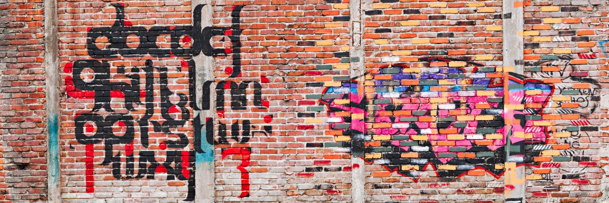 Graff sur une friche industrielle, Le Havre