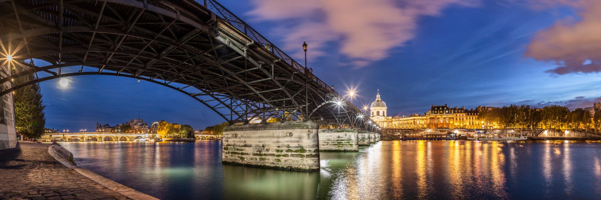 Passerelle des Arts, la Seine