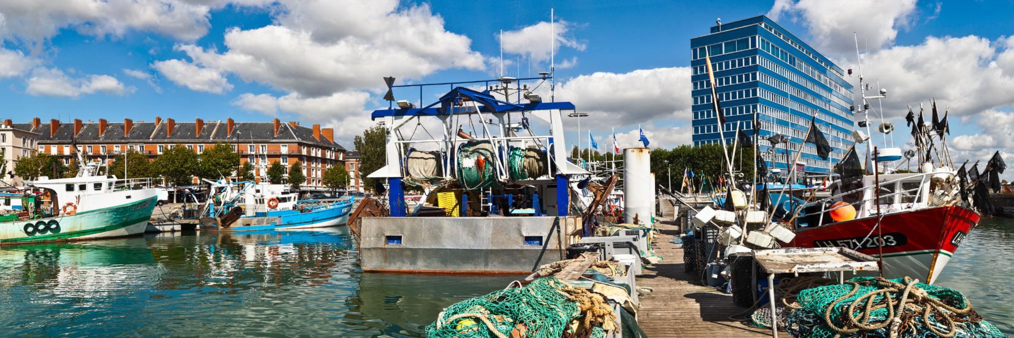 Port de pêche, Le Havre