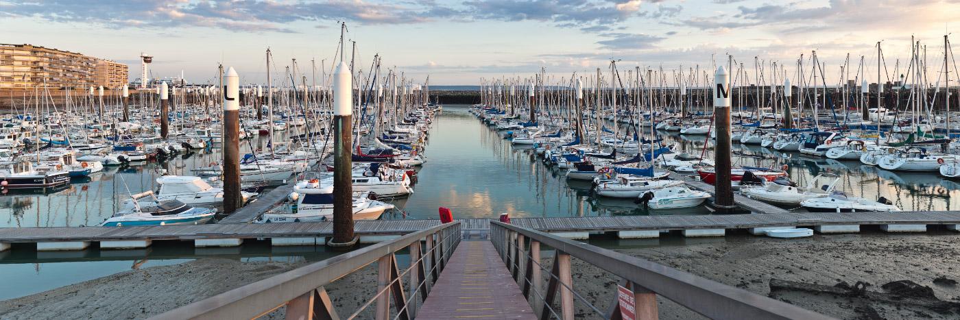 Port de plaisance le havre seine maritime herve sentucq photo panoramique - Port de plaisance le crouesty ...