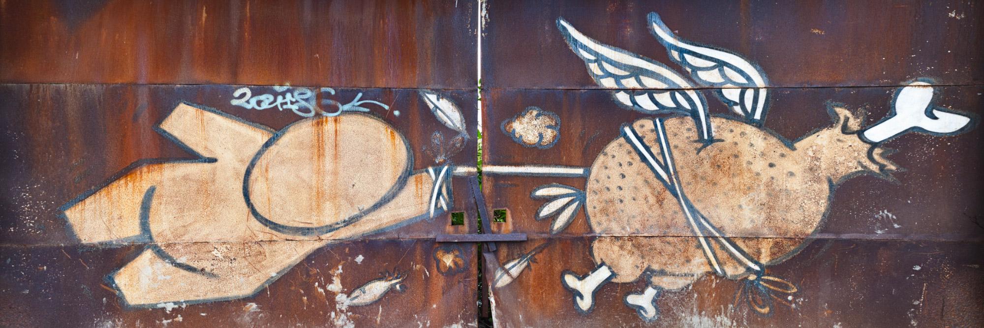 Graff, rue des Briquetiers, Le Havre / Jace