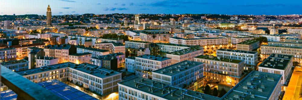 13313-france-Seine-Maritime-Semaphore-vue-est-Le-Havre-panorama-sentucq