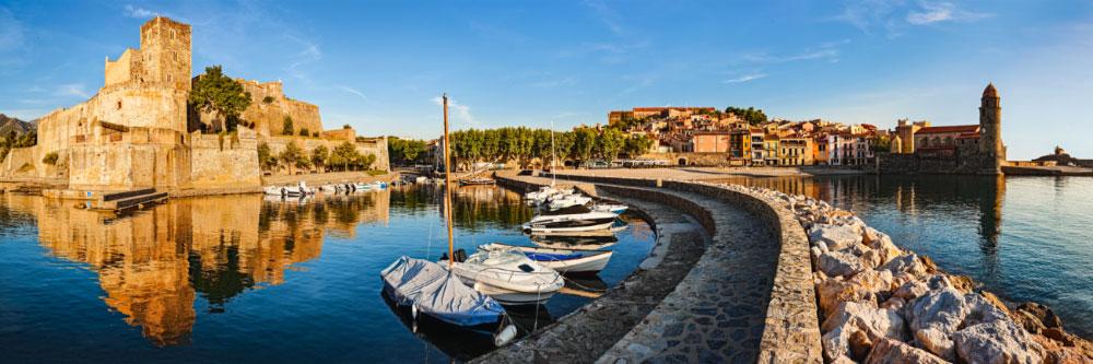 13474 Collioure côte Vermeille Pyrénées-Orientales Juin