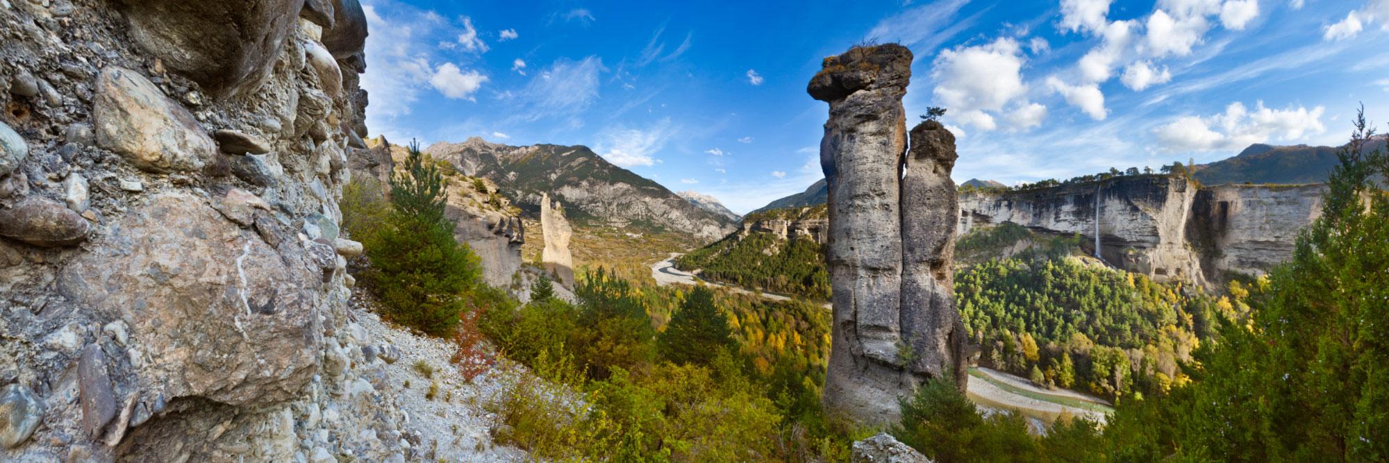 Gorges du Guil, Mont-Dauphin
