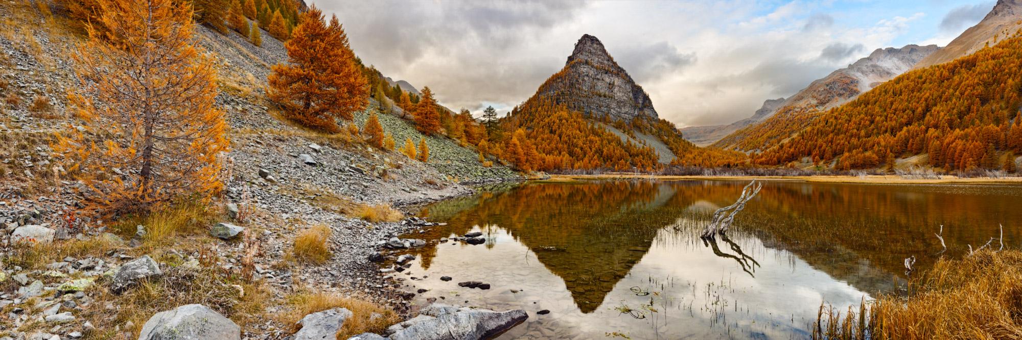 Lac des Sagnes, Jausiers, Mercantour