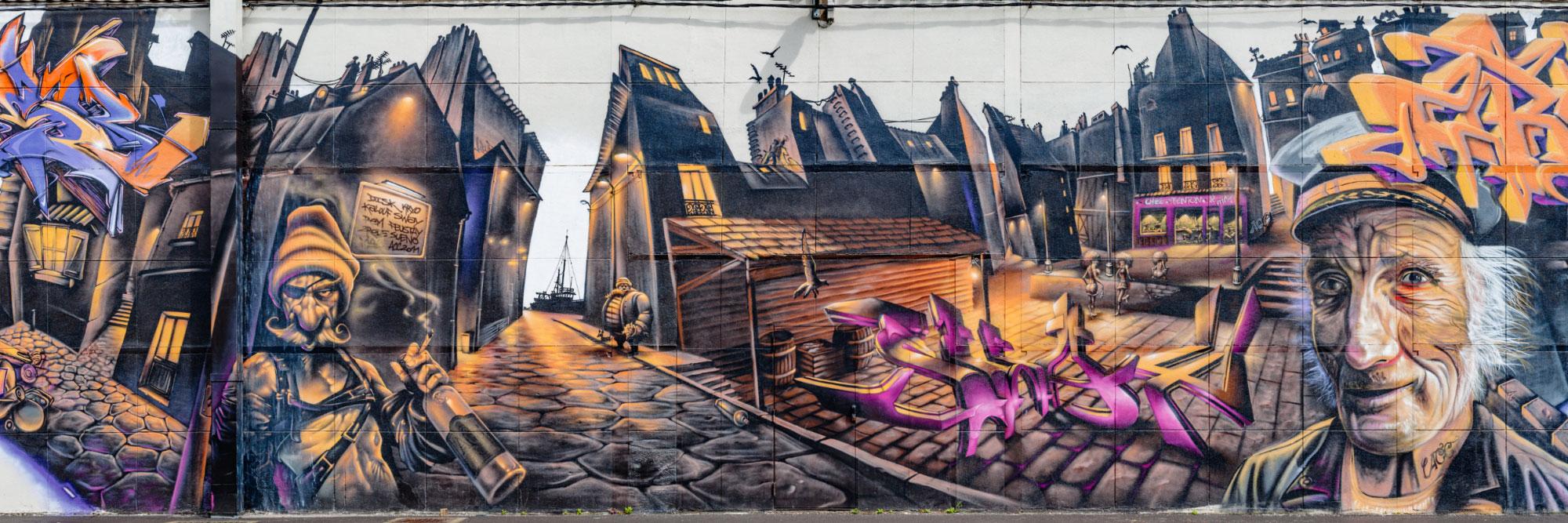 Graff, Hangar 181, avenue du Grand Cours, Rouen / Acc Crew
