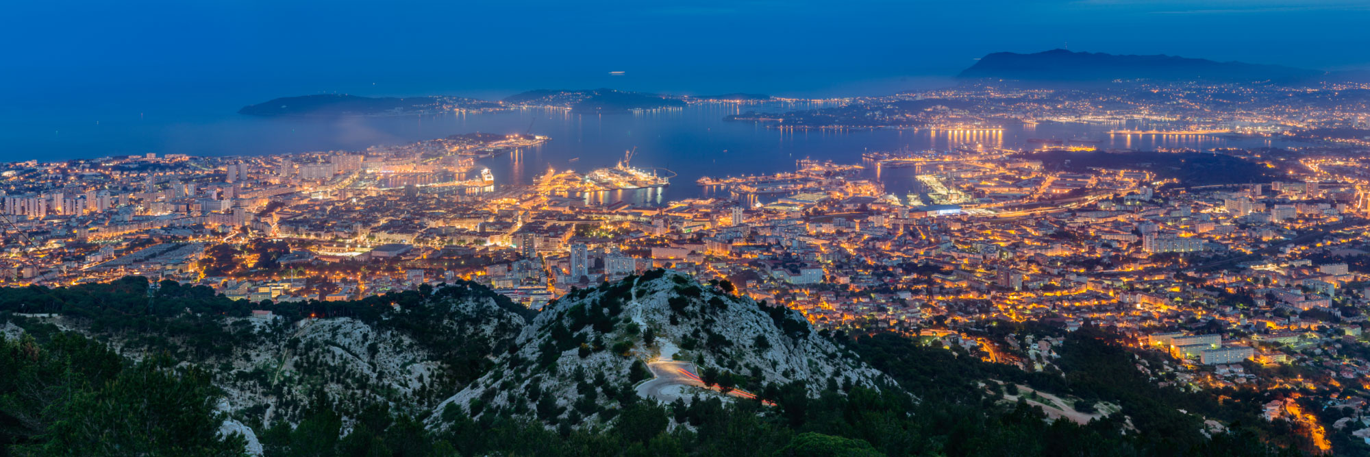 Rade de Toulon, Méditerranée