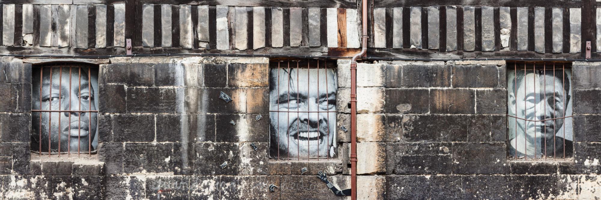 Graff, art de la rue, rue Géricault, Rouen / Hugo Fabe