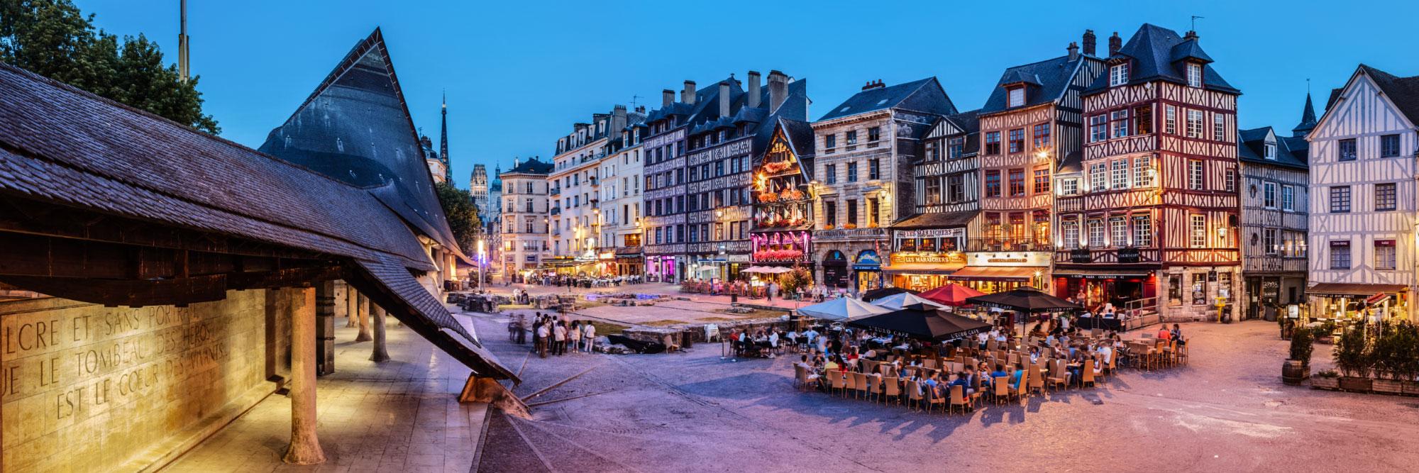 Place du Vieux-Marché, Rouen