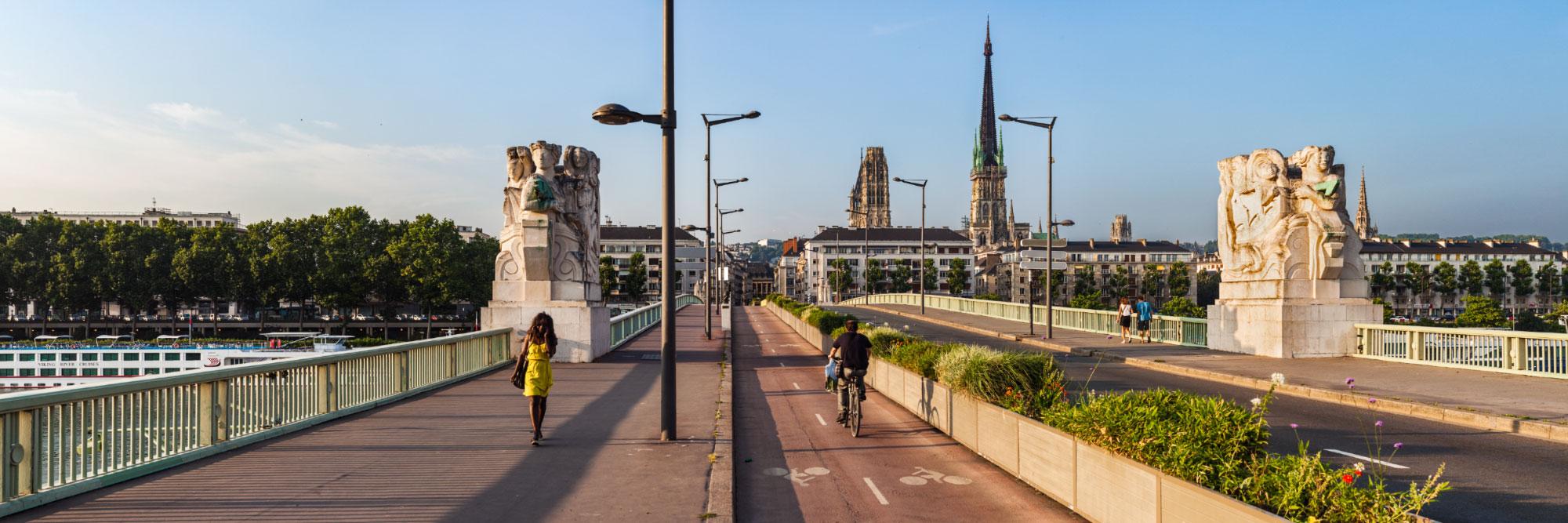 Pont Boieldieu, Rouen