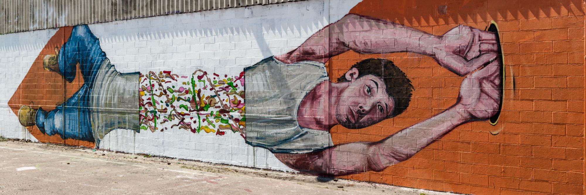 Graff, Skatepark, Rouen / Madcow - Sckaro