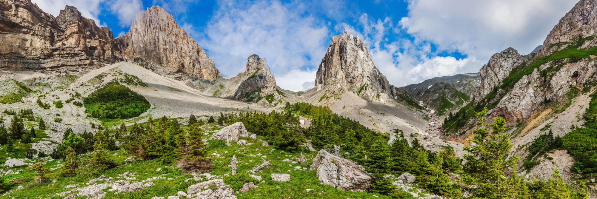 Col de l'Aiguille, Dévoluy, La Jarjatte, Lus-la-Croix-Haute