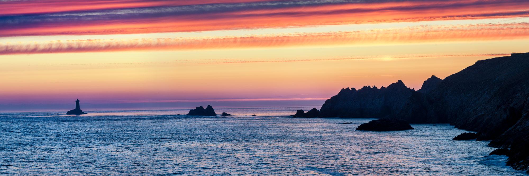 Pointe du Raz et mer d'Iroise