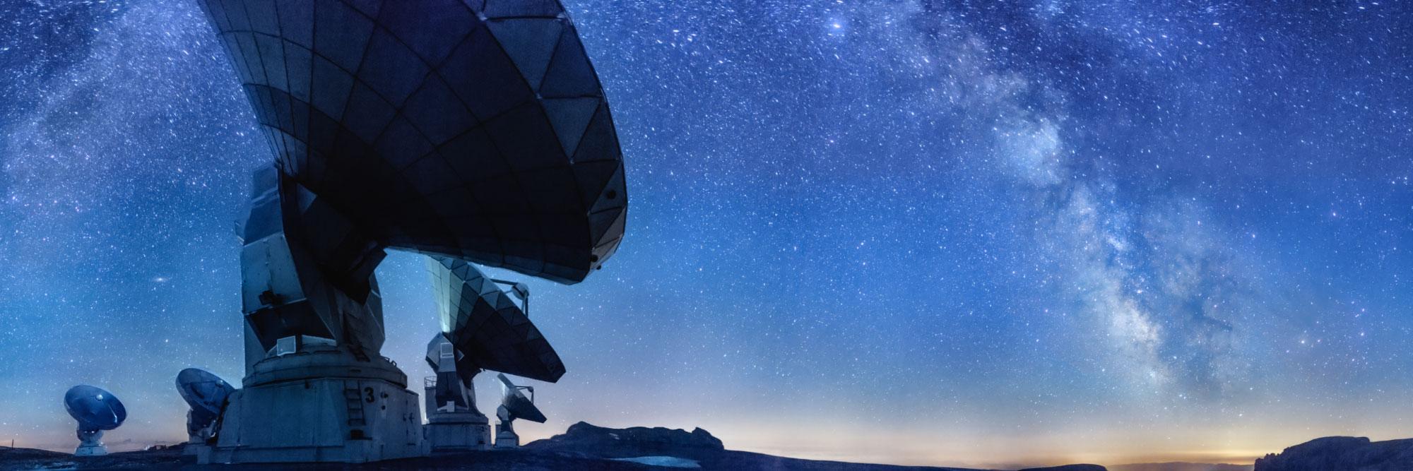 Radiotélescopes du plateau de Bure à 2552m, Dévoluy