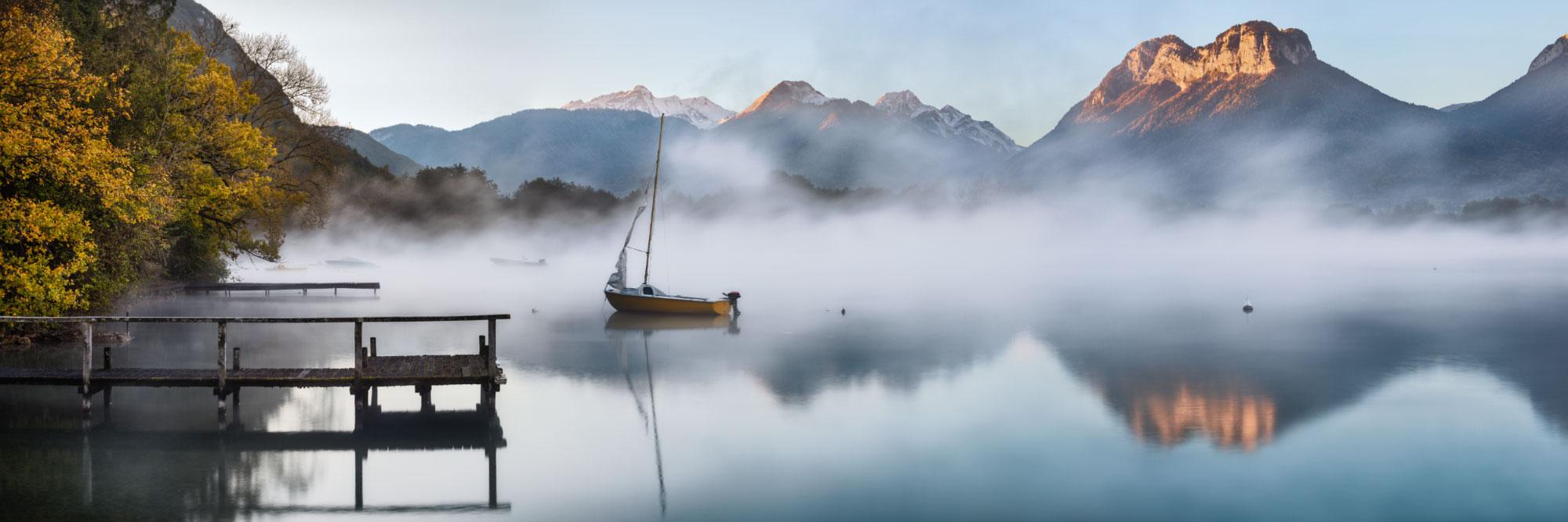 Lac d'Annecy et Massif des Bauges