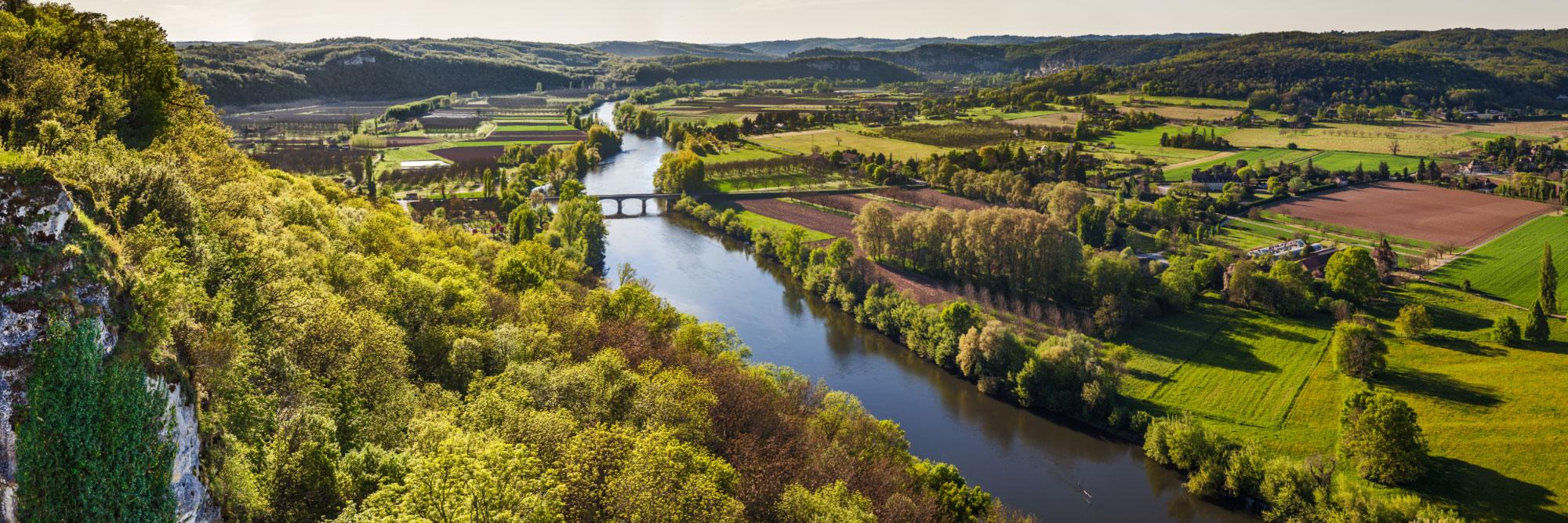La Dordogne, belvédère de la Barre de Domme
