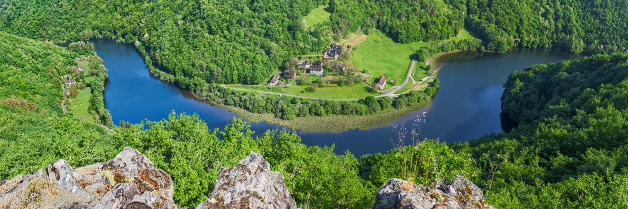 Vallée de la Dordogne, Roc Castel