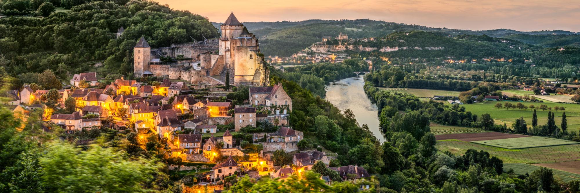 La Dordogne entre Castelnaud et Beynac