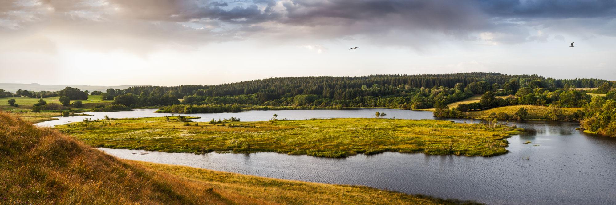 Lac de tourbière de l'Esclauze, Artense