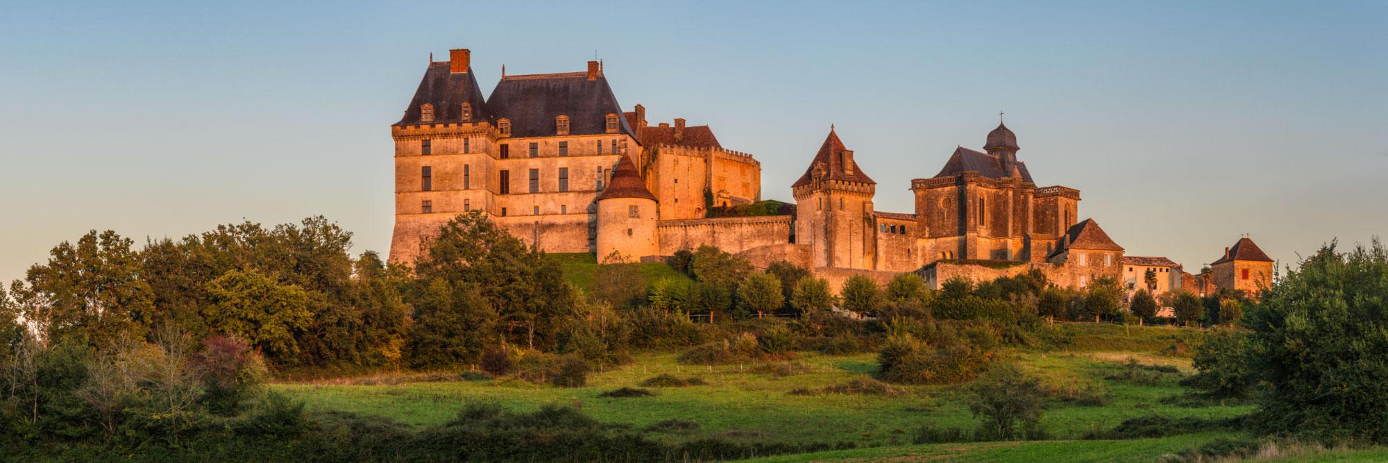 Le château de Biron, Périgord
