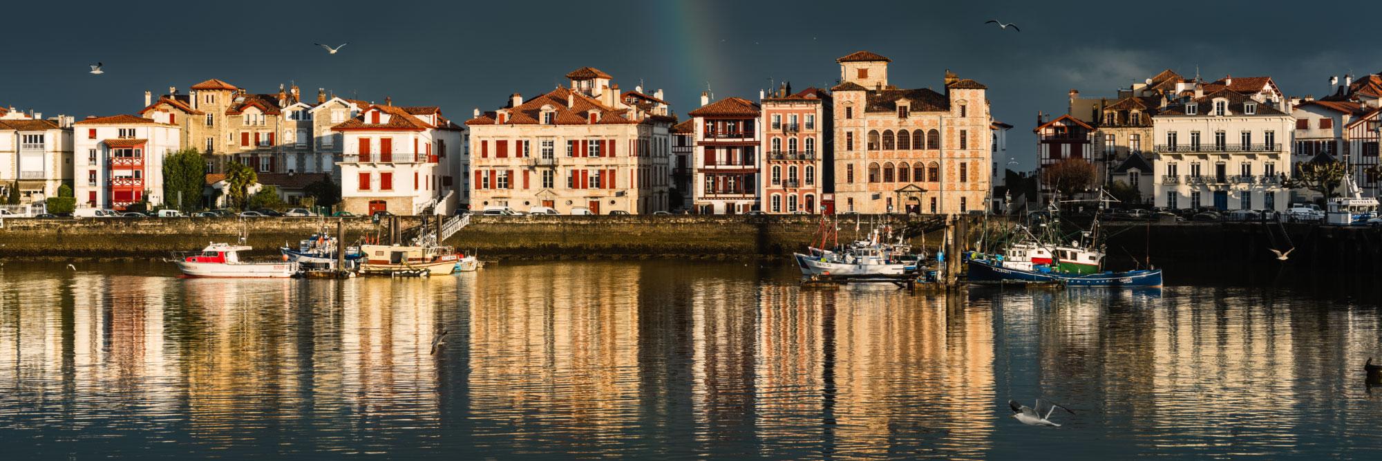 La Nivelle, Saint-Jean-de-Luz, côte basque