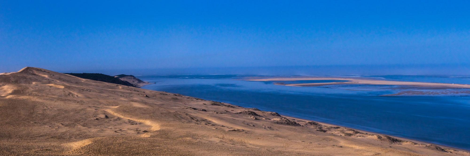 Dune de Pyla et banc d'Arguin, côte Atlantique