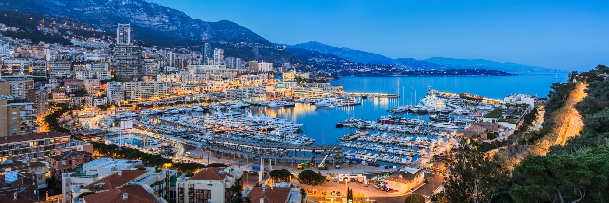 Port Hercule de Monaco, Côte d'Azur