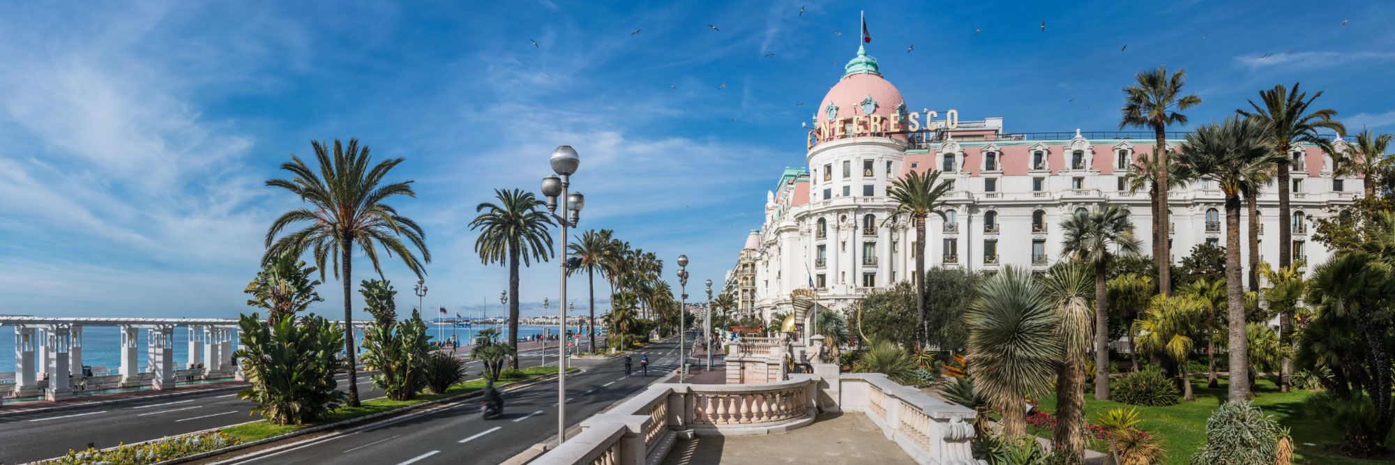 Promenade des Anglais et Hôtel Negresco, Côte d'Azur