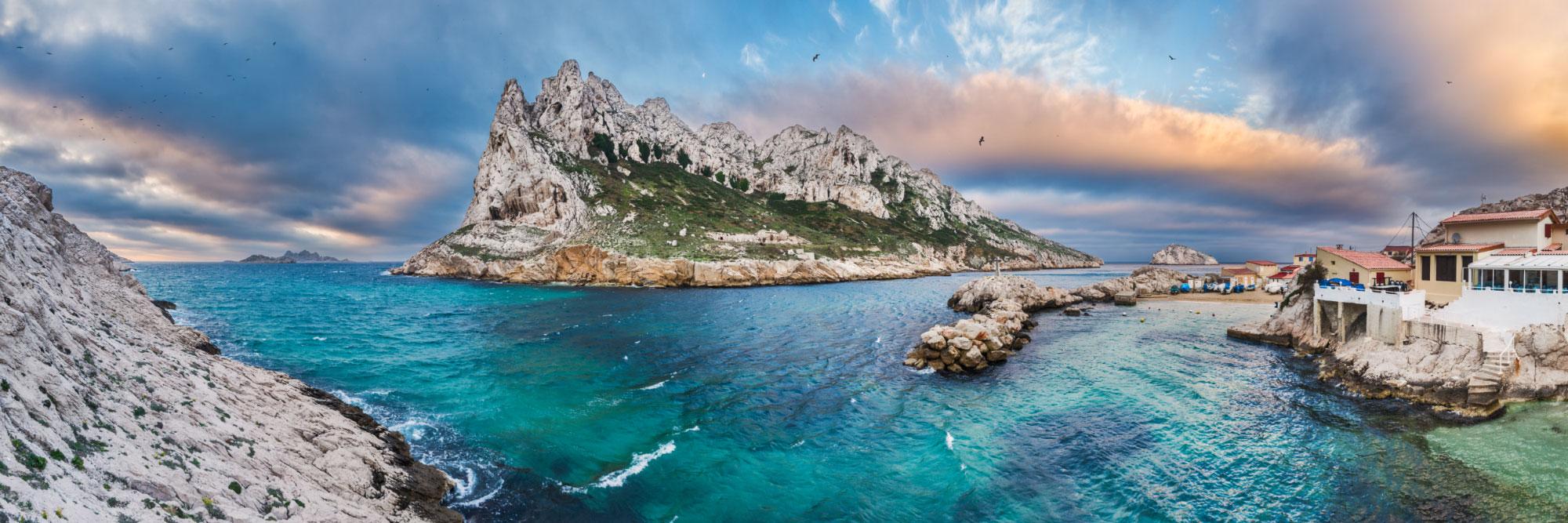 Ile Maire et baie des Singes, Cap Croisette, Marseille