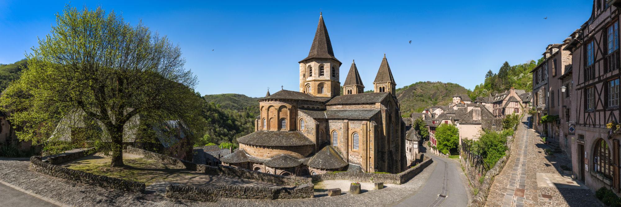 L'abbaye Sainte-Foy de Conques, Rouergue