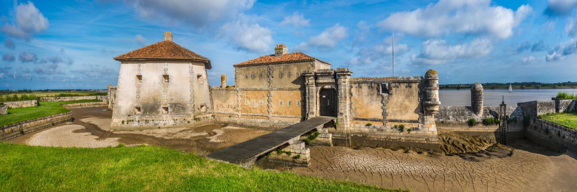 Fort Lupin (défendant l'accès à Rochefort), estuaire de la Charente
