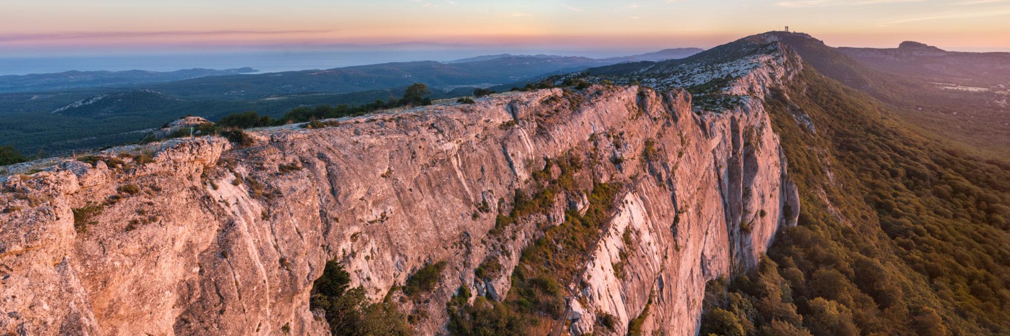 Crête calcaire de la Sainte-Baume