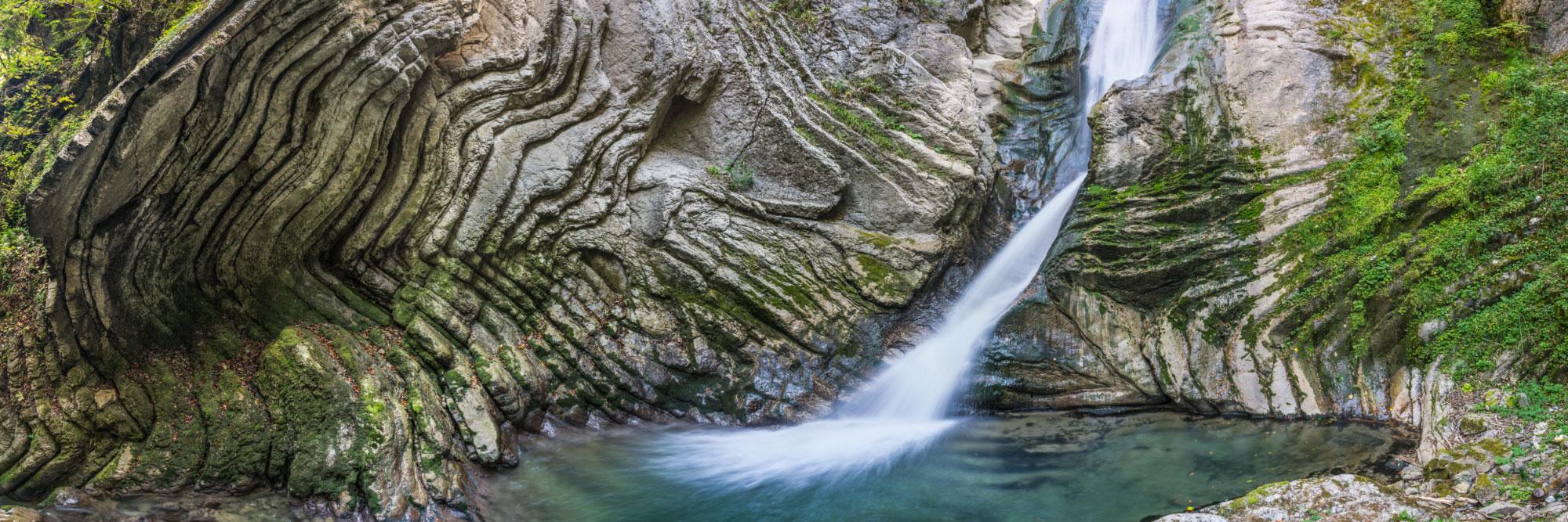 La Cascade Mystérieuse, Le Grand-Bornand, Aravis
