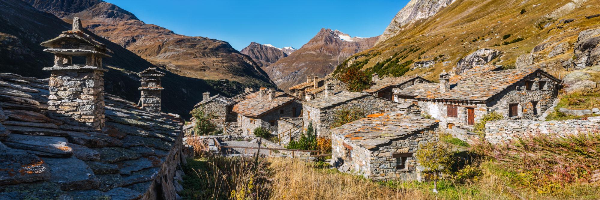 Hameau de l'Ecot, 2030m d'altitude, Maurienne, Vanoise