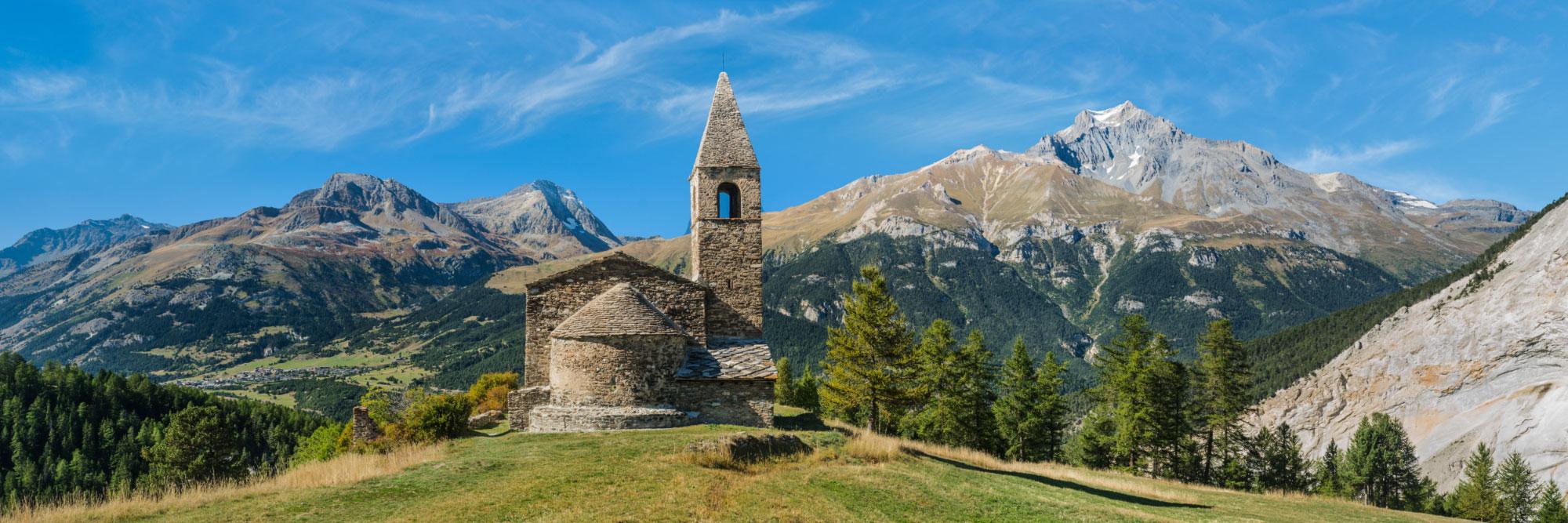 Eglise de St-Pierre-d'Extravache, Bramans, Maurienne