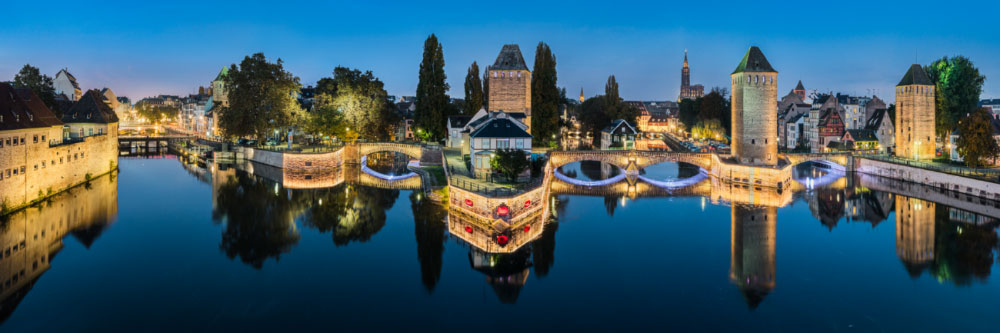 16041 Les ponts couverts de Strasbourg, Bas-Rhin