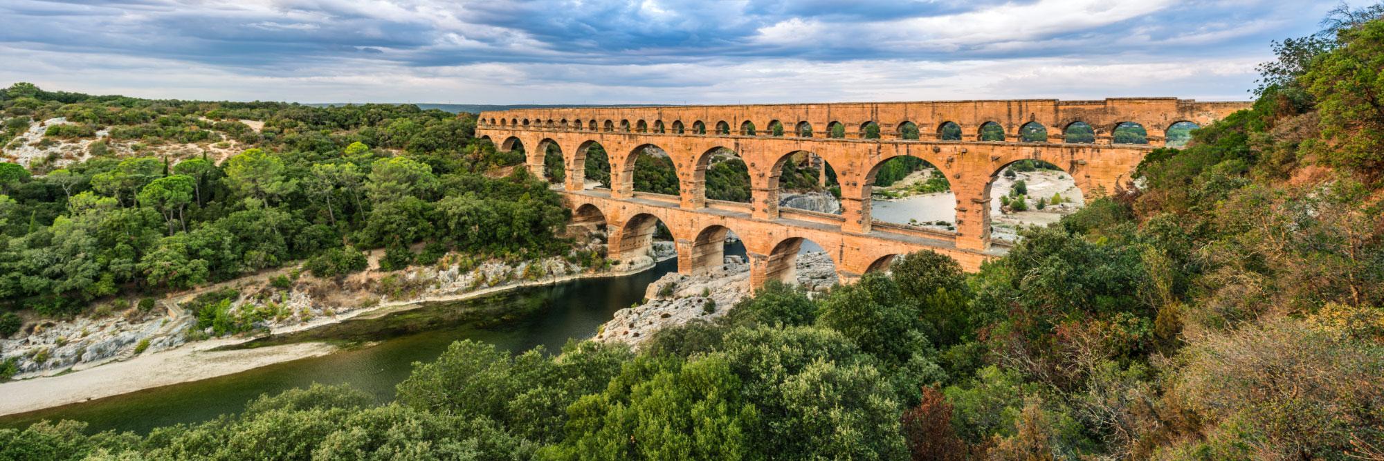 Aqueduc romain du Ier siècle dit Pont du Gard