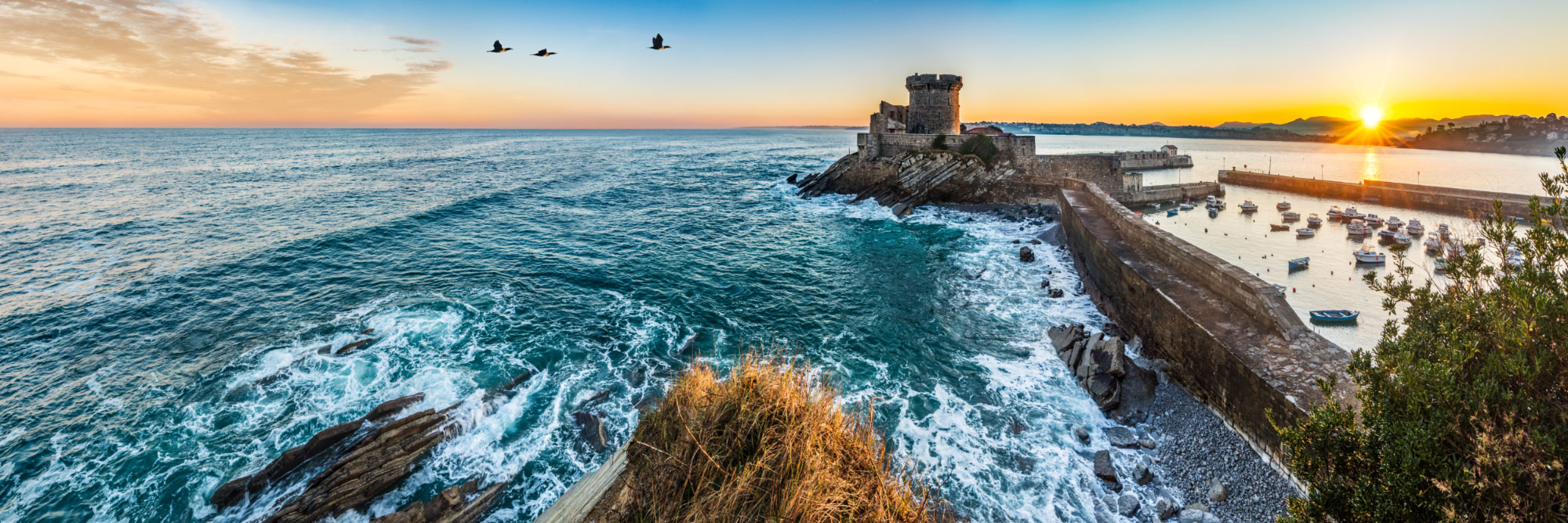 Fort (Vauban) de Socoa, baie de Saint-Jean-de-Luz, Pays-Basque