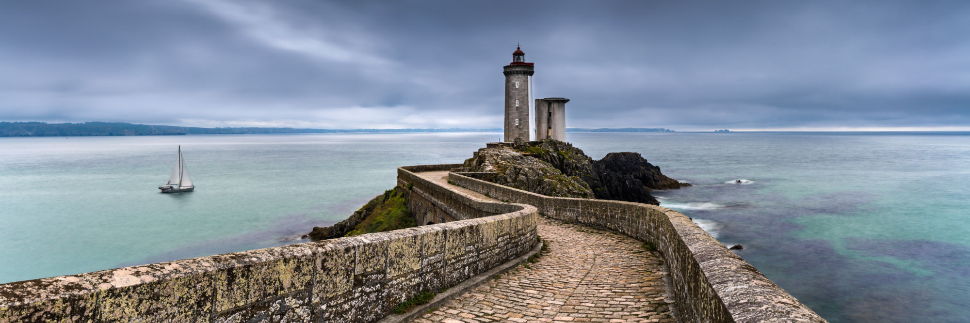 Phare du Petit Minou (entrée de la rade de Brest)