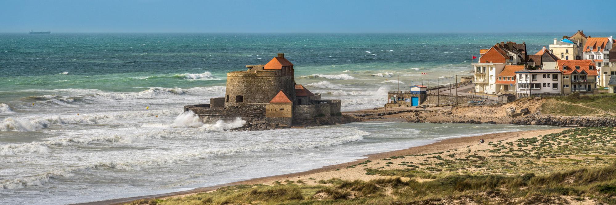 Dunes de la Slack et Fort (Vauban) d'Ambleteuse